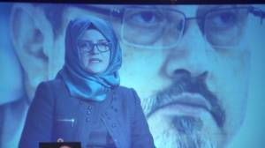 Khashoggi's  fiancée urges Trump administration to cooperate with Turkish government