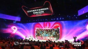 Alibaba surpasses $24B in sales on China's version of Cyber Monday