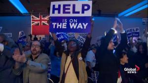 Ontario Election: Ford headquarters reacts to projected win