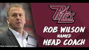 Petes name  Rob Wilson as new had coach (02:13)