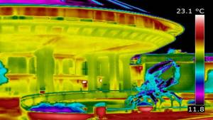 Thermal imaging lower power bill, raises privacy concerns