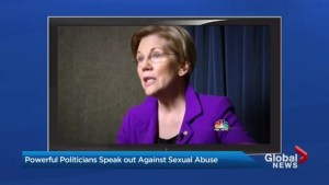 U.S. Senators speak out on sexual abuse as Me Too Movement grows