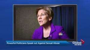 U.S. Senators speak out on sexual abuse as Me Too Movement grows