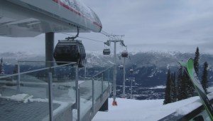 Highly anticipated new Blackcomb gondola opens in Whistler