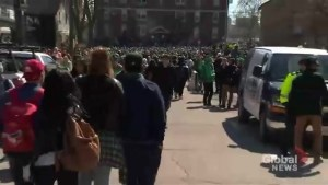 Increased police presence in Waterloo not enough to curb out of control St. Patrick's Day party