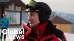 Vladimir Putin hits ski slopes in Sochi with Belarus President Lukashenko