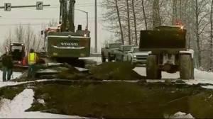 Hundreds of aftershocks rock Alaska following big quake