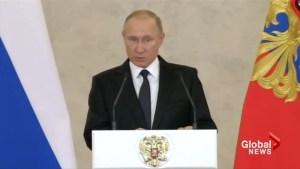 Putin states supermarket bombing was 'an act of terrorism'