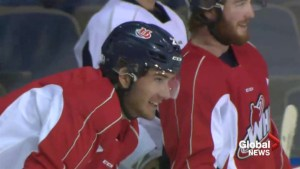 Lethbridge hockey player injured in campfire out of ICU, 'fully alert'