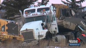 Family has questions about death of truck driver near Edmonton
