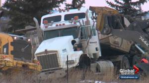 Family has questions about death of truck driver near Edmonton (01:40)