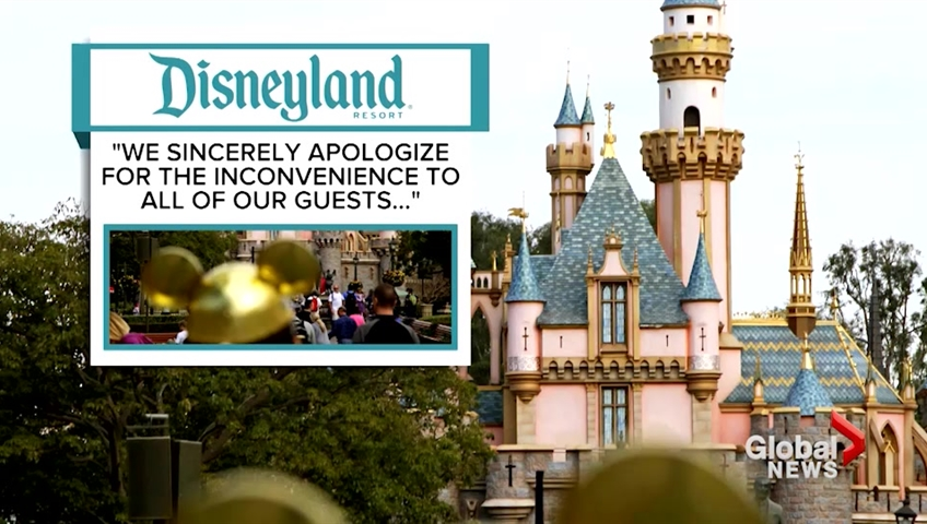 Power outage hits Disneyland in California
