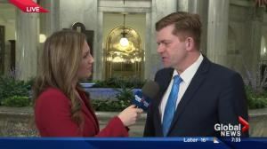 Wildrose leader Brian Jean gives his take on Alberta Budget 2016