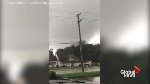 Tornado wreaks havoc in Richmond, Virginia