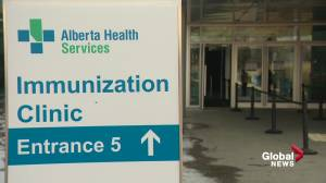 Slow start to Edmonton's mass vaccination site at the Expo Centre (01:52)