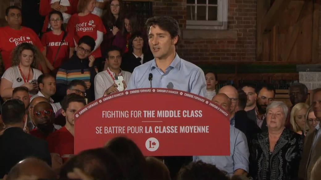Conservatives running 'one of the dirtiest, nastiest campaigns', Trudeau alleges