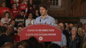 Federal Election 2019: Trudeau says they 'can't afford to go back' to Harper 'decade'