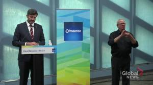 Edmonton Mayor Don Iveson on city's difficult finances, cutting police budget by $11M