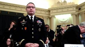 Impeachment witness Alexander Vindman fired from White House