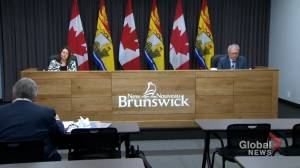 New Brunswick reports record high number of daily COVID-19 cases (01:57)