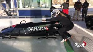 From Barrhead to bobsled: Melissa Lotholz's journey to the ice track (02:01)