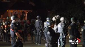 Portland protest: Police declare unlawful assembly as unrest continues into 78th night