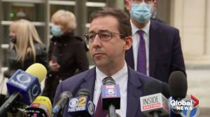 Prosecutor, supporters of Keith Raniere react after NXIVM leader sentenced to 120 years in prison (02:25)