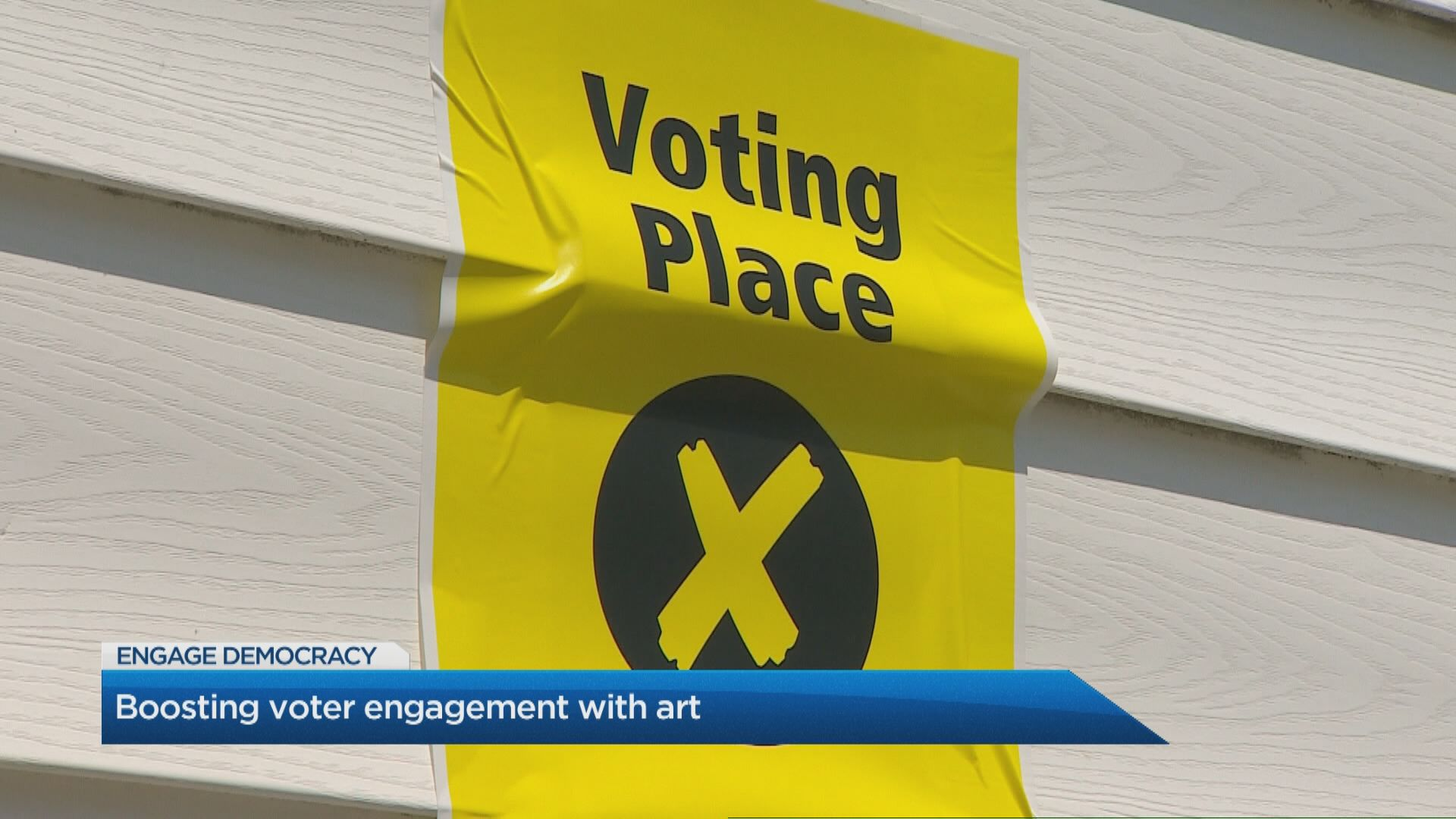 Boosting voter engagement with art