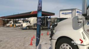 Alberta premier urges relief for hungry truckers