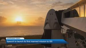 The importance of NASA and SpaceX's manned mission to the ISS