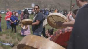 Kamloops drum circle pays respect to Capt. Jennifer Casey