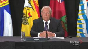 Coronavirus: Premier Ford calls on federal government to provide $70 billion funding for healthcare