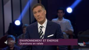 Leaders' Debate: Bernier says 'we shouldn't propagate fear' over climate change