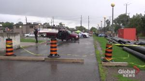 Peterborough woman charged with impaired driving following crash in parking lot (00:35)