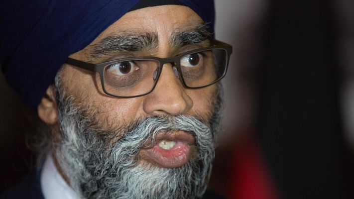 Click to play video 'Accountability questions for Sajjan on Gen. Vance allegations'