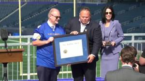 Grey Cup-winning Bombers team to be invested into Order of the Buffalo Hunt (00:47)