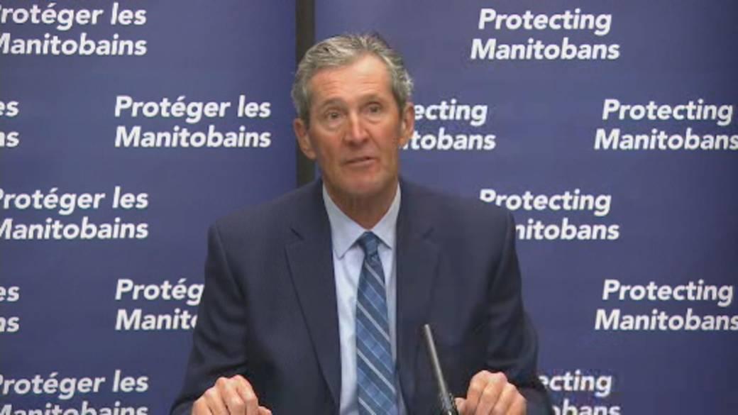 Click to watch video: `` Manitoba Doubles Fines for COVID-19 Violators ''