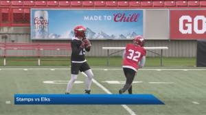 Excitement builds for the CFL Labour Day Classic (04:17)