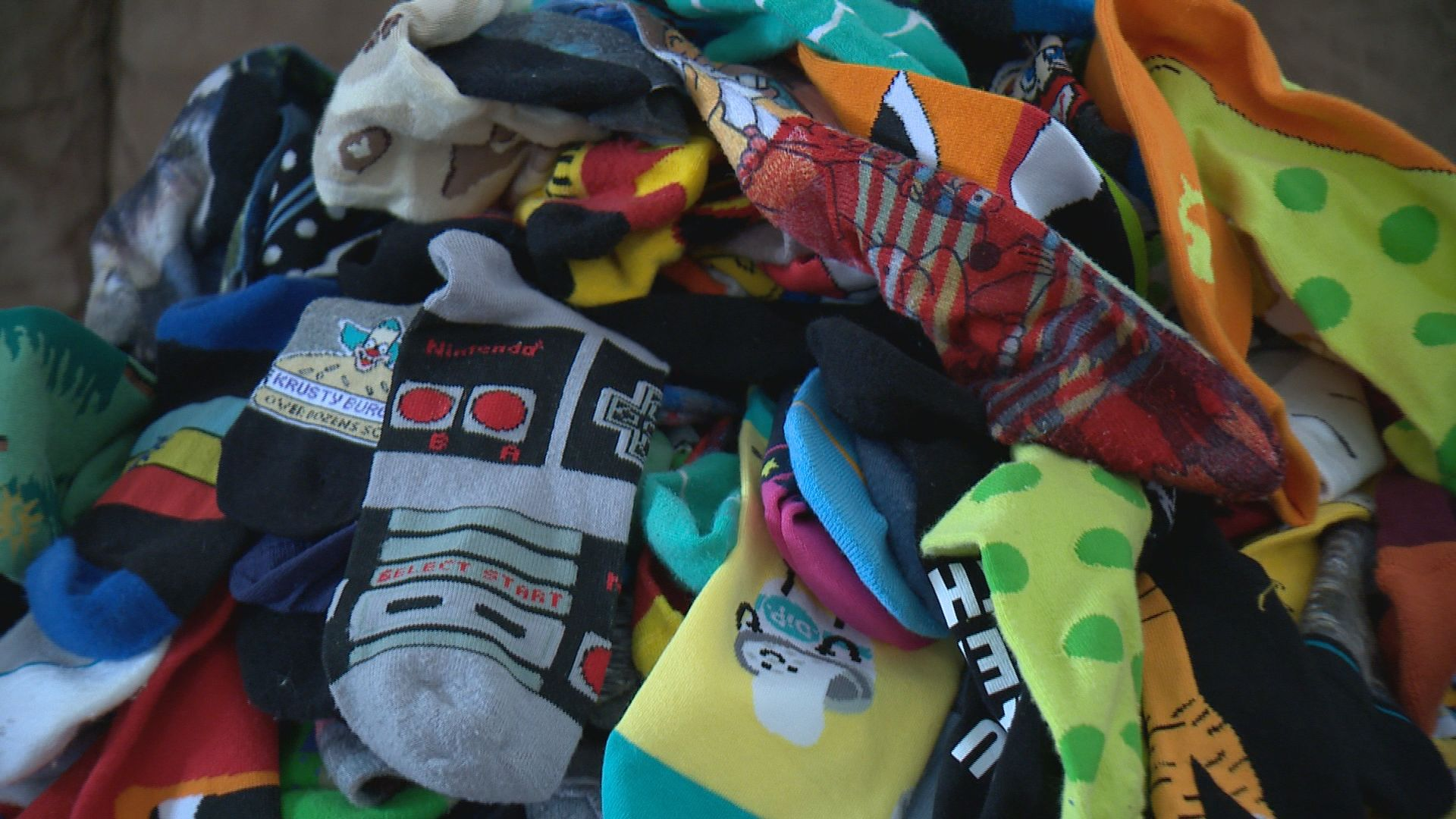 'Socks for Smiles' campaign touches hearts, and feet, around the world