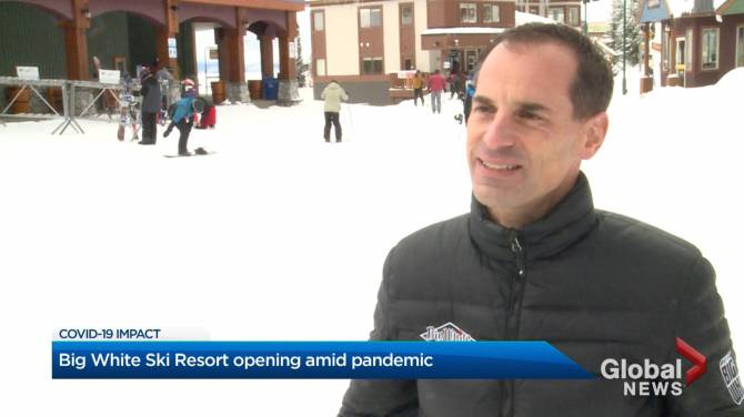 Click to play video: Big White Ski Resort opening amid pandemic