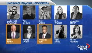 Edmonton mayoral race offering wide range of candidates (02:11)