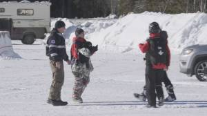14-year old snowboarder found after night on mountain