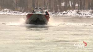 Remains of homicide victim Shane Smith the focus of Bow River search (02:02)