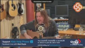 Come and he Will Sing You: Musician Alan Doyle launches Facebook Live series for Kids Help Phone