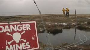 Falkland Islands cleared of landmines, 38 years after war (02:25)
