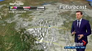 Edmonton noon weather forecast: Monday, April 13, 2020