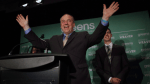 Former Green Party leader to sit as independent