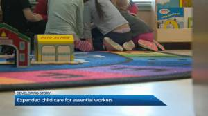 More child care spaces opening for essential workers in Alberta
