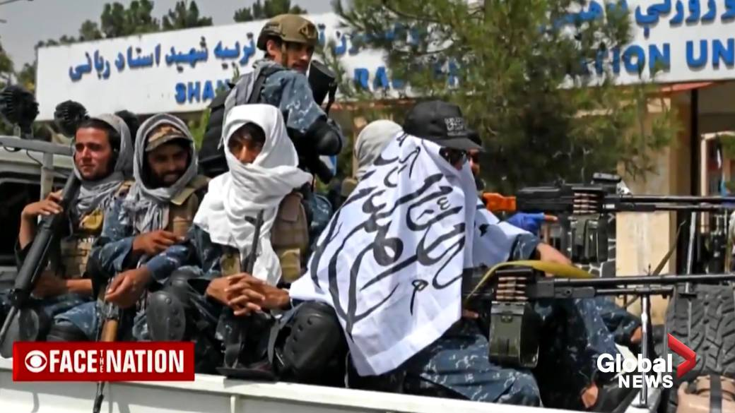 Click to play video: 'Afghanistan crisis: Taliban's claim on victory emboldens jihadist extremists, U.S. intelligence officials warn'