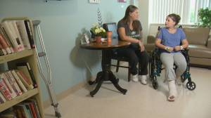 11-year-old Regina girl recovering in hospital after a trampoline injury